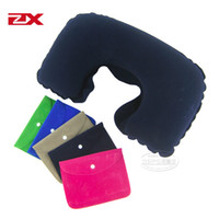 Wholesale thickening u pillow inflatable pillow travel pillow neck pillow triratna