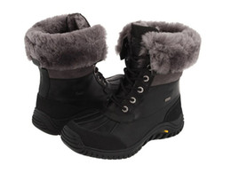 Wholesale New Brand Adirondack II Boots Cowskin sheep wool women Snow Boots Free shippping in Original boxes