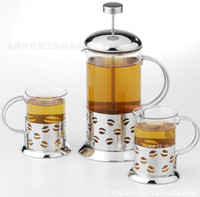 ciq coffee pot tea - Manufacturers selling tea to implement a three piece ml ml rewed coffee pot filter pot of tea