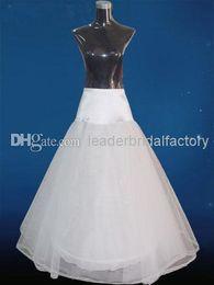 Wholesale Stock Wedding Slipper Pannier Adjustable Waistline General Size Bridal Petticoat Layers Hoop Underskirt Bridal Wedding Crinoline MT27