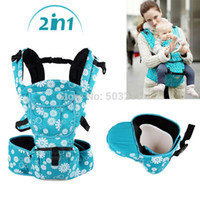 Wholesale 2014 Fashion Kangaroo Backpacks Carriers Baby Sling and Hipseat in shoulders Carrying Baby Bjorn Carrier Canguru Para Bebes