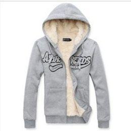 Wholesale 2014 hot sell new autumn winter hoodies keep warm plus velvet thickening men s sport suit man s sweatshirt