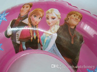 Wholesale Retail Newest swimming ring Frozen Anna Elsa Princess inflatable underarm laps swim wear gifts for kids