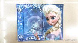 Wholesale kids Frozen Photo Frame baby girls princess Elsa Anna Photo Frame Children cartoon rahmen cm mix up