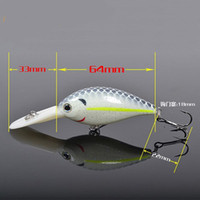 Wholesale VMC Hook Artificial Fishing Lure Crank Hard Bait Outdoor Fishing Tackle MYZDW21 A
