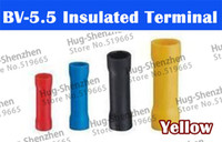 Wholesale OWK High Quaity BV Assorted Insulated Straight Wire Butt Connector Electrical Crimp Terminals
