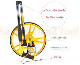 Wholesale SunRed BESTIR taiwan made excellent qaulity ABS mm quot m Distance Measuring Wheel Surveyor Walking Tape NO