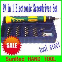 Wholesale tool steel T4 T5 T6 T7 T8 T9 T10 T15 T20 Cell Phone Repair Torx ScrewDriver kit NO