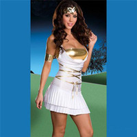 Cheap Halloween Party Cosplay Anime Costume Role Playing Greek Goddess Princess Costume Sexy Suit ZL880