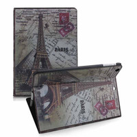 Wholesale Hot British Case Magnetic Smart PU Leather Cover Backing iPad Case Stand Skin For iPad iPad Mini Free DHL Shipping