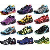 zapatillas salomon - 2014 NEW Arrival Zapatillas Salomon Speedcross Athletic Running Shoes for Men amp Women Walking Ourdoor Sport Shoes solomon