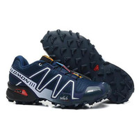 Wholesale The latest arrival Salomons peedcross running shoes professional outdoor sports shoes men s shoes