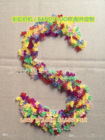 Wholesale pc Rainbow loom loom beads DIY Charms Rubberband bands Bracelets CHARMS PACK Christmas Gift color C S head