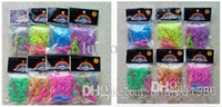 Wholesale tinalou1986 Loom Rubber Bands S clip Glow in Dark Rubber Band Multi color Latex Free Colors can be customized