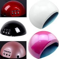Cheap nails gel professional Curing Lamp Machine for UV Gel Nail Polish nail tools led nail lamp nail art 5 colors Nail Dryer 15W H10936
