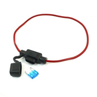Wholesale Vehicles Car Rubber V A Mini Blade Fuse Holder Container Red Black