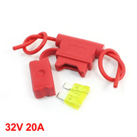 Wholesale Vehicles Car Red Plastic Blade Fuse Holder Container V A