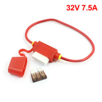 Wholesale Red Vehicles Car Rubber Blade Fuse Holder Container V A Fuse