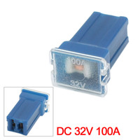 Wholesale DC V A Automotive Female Plug Cartridge PAL Circuit Breaker Fuse Blue