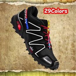 Wholesale Top Quality Salomon Speedcross Men s Running Shoes Outdoor Walking Athletic Shoes For Men Zapatillas Salomon Hombre