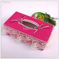 Wholesale Wei a tissue box factory direct high grade cotton cloth napkins plus pumping carton box household goods