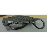 Cheap Cheap knife OEM Fox claw karambit G10 handle folding knife survival outdoor gear pocket knife hunting knife free shipping