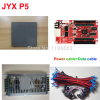 Wholesale P5 LED screen for advertising SMD RGB Led Display Module Control Card Power Supply All Cable