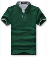 Short Sleeve xxxl size - Hot Selling Men s Polo Shirts Men s Casual T shirts Cotton Short Sleeve Shirt Men Leisure T Shirts Men Size M XXXL