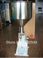 beverage filling machinery - Manual paste piston filling machinery liquid filler equipment food chemical medicals beverage bottle filling machine