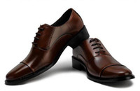 shoes - Mens Business Shoes Genuine Leather Mens Dressing Shoes Big Size Men Pinted Toe Shoes Black And White Men Dress Shoes Mens Brown Dress Shoes
