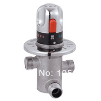 Wholesale Thermostatic mixing valve mixing faucet solar water heater electric water heater mixing valve high quality
