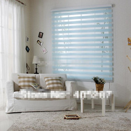 Wholesale 2014 New Rainbow Blinds Zebra Window Blinds Shade Rainbow Curtain Blinds Louvers