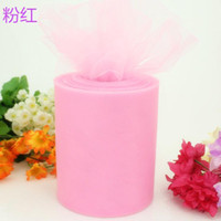 Wholesale 100yard roll cm yd Gauze Roll Handmade Tulle Spool Bridal Dress Bouquet Marriage Candy Box Chair Cover Adornment Craft wdv003 quot y