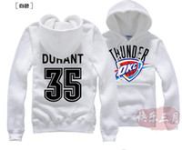 Wholesale Fashion Plaid Jacket Kevin Durant KD basketball hedging hoodie men s casual sweater hoodie brush