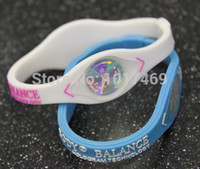 Wholesale Body Power Energy Hologram bands glow in the deark Bracelets Wristbands Balance Fashion Silicone Bands bracelets bangles