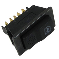 auto window replacement - Car Auto Plastic Power Window Switch Master Replacement Part Black