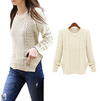 cardigans women - S5Q Women Crochet Knitwear Cardigan Lady Knitted Pullover Sweater Jumper Outwear AAADWQ