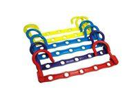 Wholesale 2014 New Clothes Hanger Five Holes Magic Hanger Versatile Windproof Wind Drying Racks