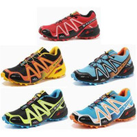 Wholesale High Quality New Zapatillas Solomon Men Running Shoes Outdoor Sports Training Athletic Shoes Big US Size