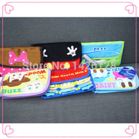 Wholesale 2014NEW Cartoon Wallet Coin Hand Purse Mike Toy Story Minnie Mouse Donald Duck Alien Character Kawaii bag Style