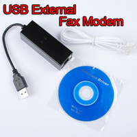 Wholesale Freeshipping Kbs USB V Dial Up PC Voice Fax Data Modem for Win bit Vista RJ11 Ethernet Dialup
