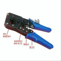 Wholesale KS P8C P6C P4C network pliers dual use Dual Crimping Tool for Networking Web Phone