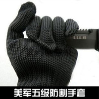 Wholesale Working Protective stainless steel Gloves Cut resistant Anti Abrasion Safety Gloves slip resistant hiking protection anti cut