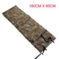 air mattress - Camouflage Outdoor Camping Tent Automatic Inflatable Sleep Mattress Moisture proof Pad Cushion Single Air Bed Mattress Mat