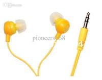 Wholesale DHL NEW GOOD cheap Cheap Headset In Ear Smile Earbud Earphone Headphone for MP3 MP4 mm Cute Headphones Jack Gift
