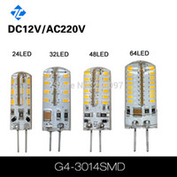 Wholesale High Power LED Lamp G4 G9 leds SMD W W W V V DC V lighting bulb light warranty years