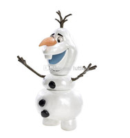 Wholesale 2014 heat frozen SNOWMAN FIGURINE toys children s toys Snowman cartoon animation toys the snow queen Olaf