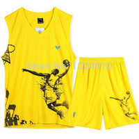 Wholesale Men Shorts New Boy Men s Basketball Shorts Basketball Jersey Quick Drying Clothes Suit Male Sports S XL