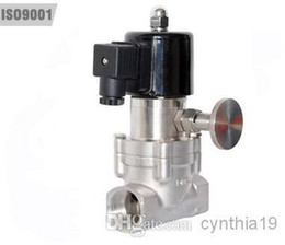 Wholesale Normally open Normally close Thread Manual Control Solenoid Valves