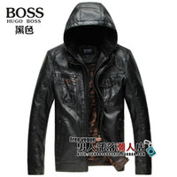 australian leather jackets - Autumn Winter Fur Australian Sheep Skin Leisure Fashion Hooded Jacket Men s Jackets Genuine Leather